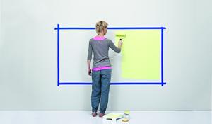 KROK II - Malowanie ściany