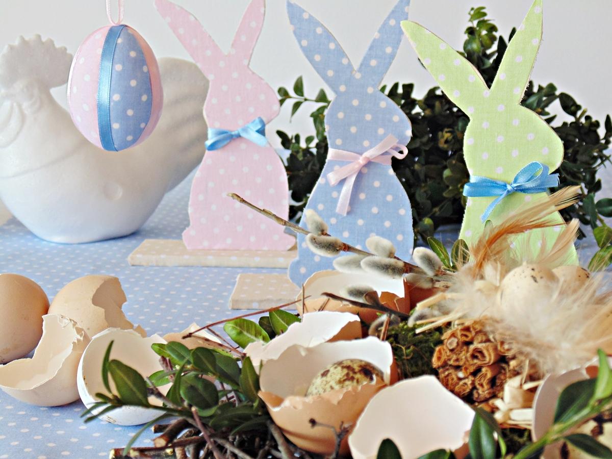 Zajączek Wielkanocny Z Drewna Zdjęcie Zrobiszsampl